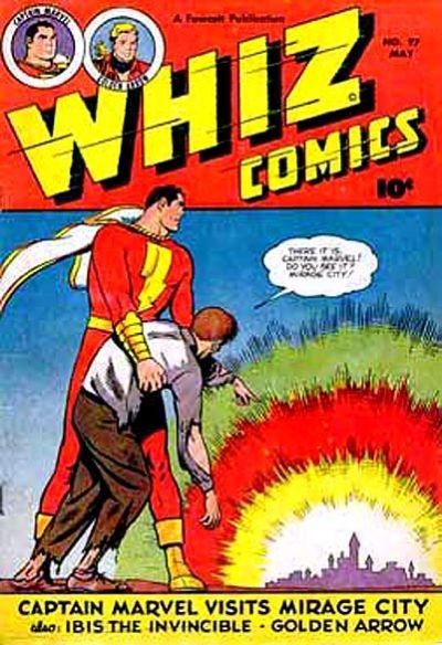 Cover for Whiz Comics (Fawcett, 1940 series) #97