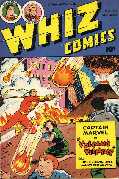 Cover for Whiz Comics (Fawcett, 1940 series) #101