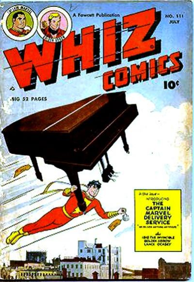 Cover for Whiz Comics (Fawcett, 1940 series) #111