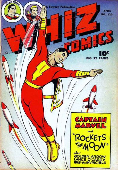 Cover for Whiz Comics (Fawcett, 1940 series) #120