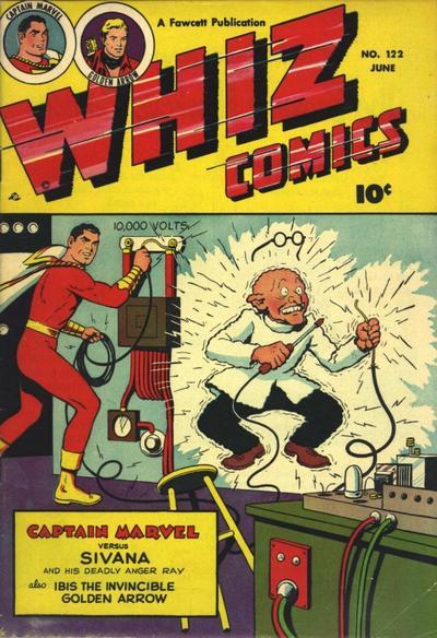 Cover for Whiz Comics (Fawcett, 1940 series) #122