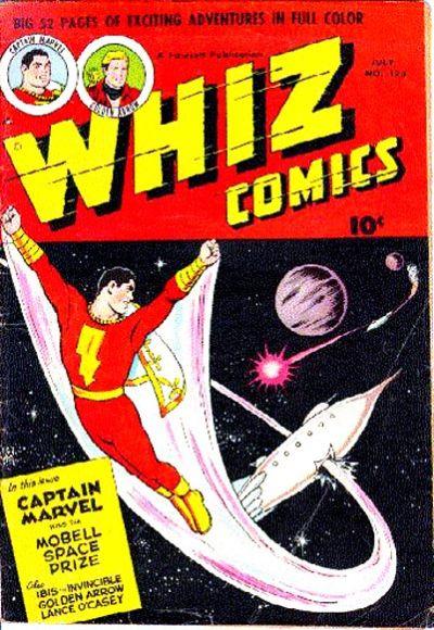 Cover for Whiz Comics (Fawcett, 1940 series) #123