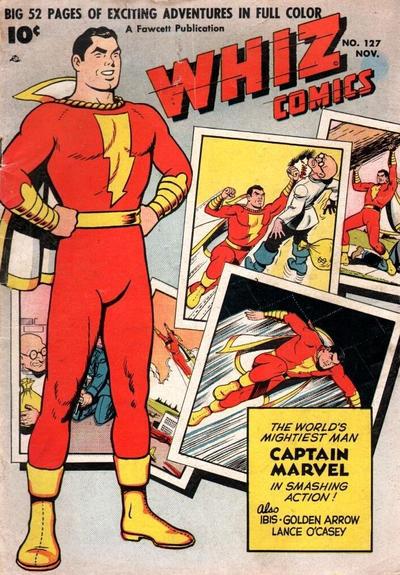 Cover for Whiz Comics (Fawcett, 1940 series) #127