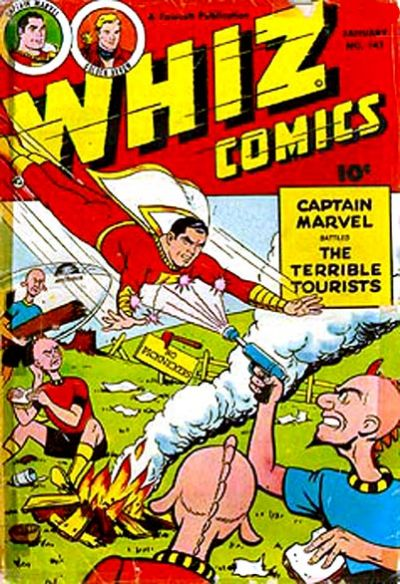 Cover for Whiz Comics (Fawcett, 1940 series) #141