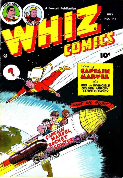 Cover for Whiz Comics (Fawcett, 1940 series) #147