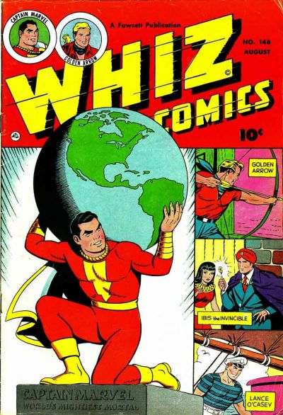 Cover for Whiz Comics (Fawcett, 1940 series) #148