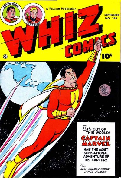 Cover for Whiz Comics (Fawcett, 1940 series) #149