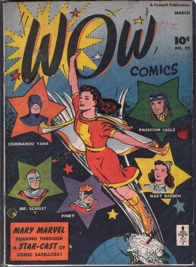 Cover for Wow Comics (Fawcett, 1940 series) #52