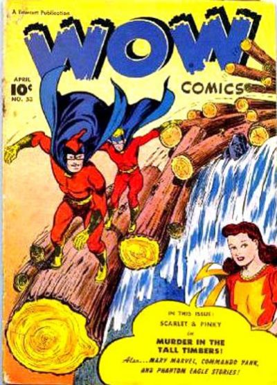 Cover for Wow Comics (Fawcett, 1940 series) #53