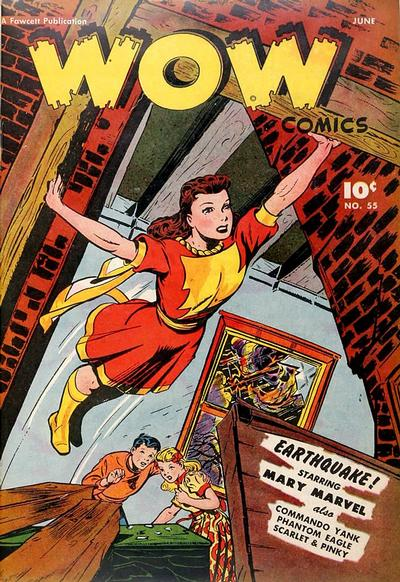 Cover for Wow Comics (Fawcett, 1940 series) #55