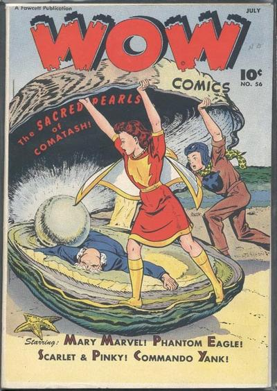 Cover for Wow Comics (Fawcett, 1940 series) #56