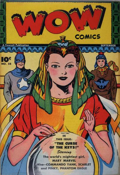 Cover for Wow Comics (Fawcett, 1940 series) #58