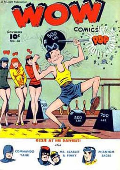 Cover for Wow Comics (Fawcett, 1940 series) #60