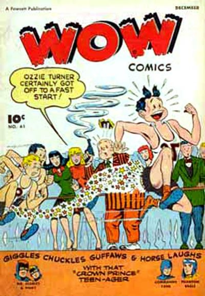 Cover for Wow Comics (Fawcett, 1940 series) #61