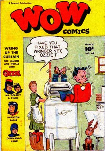 Cover for Wow Comics (Fawcett, 1940 series) #64