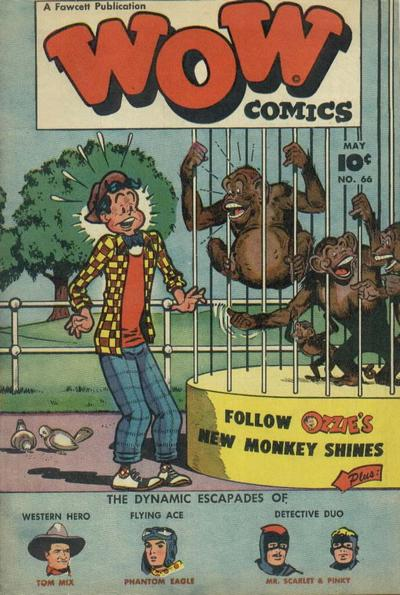 Cover for Wow Comics (Fawcett, 1940 series) #66