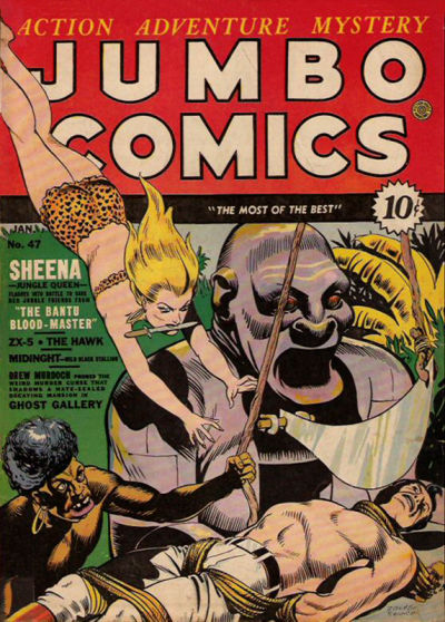 Cover for Jumbo Comics (Fiction House, 1938 series) #47