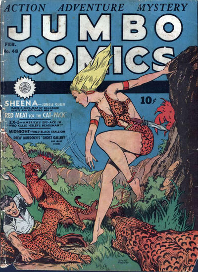 Cover for Jumbo Comics (Fiction House, 1938 series) #48