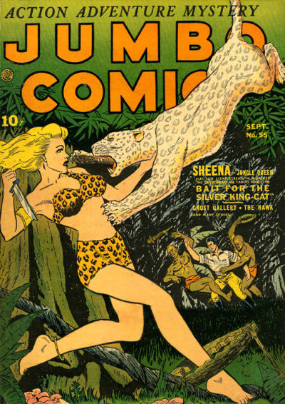 Cover for Jumbo Comics (Fiction House, 1938 series) #55