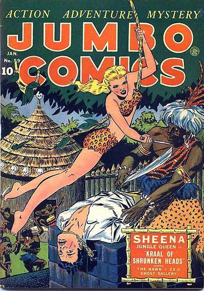 Cover for Jumbo Comics (Fiction House, 1938 series) #59