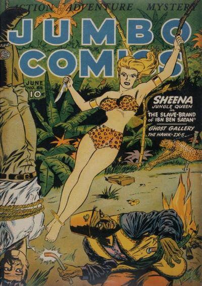 Cover for Jumbo Comics (Fiction House, 1938 series) #64
