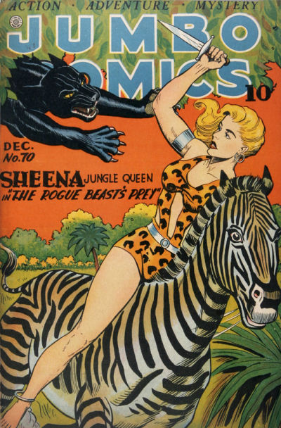 Cover for Jumbo Comics (Fiction House, 1938 series) #70