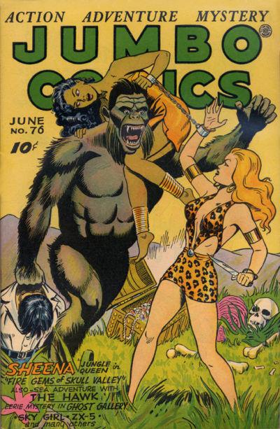 Cover for Jumbo Comics (Fiction House, 1938 series) #76