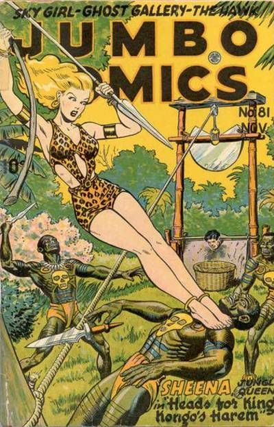 Cover for Jumbo Comics (Fiction House, 1938 series) #81