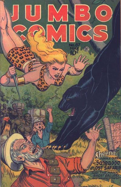 Cover for Jumbo Comics (Fiction House, 1938 series) #87