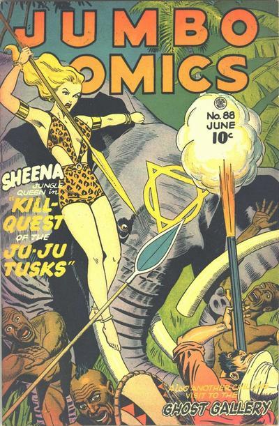 Cover for Jumbo Comics (Fiction House, 1938 series) #88