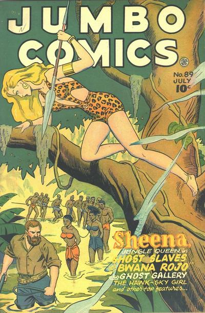 Cover for Jumbo Comics (Fiction House, 1938 series) #89