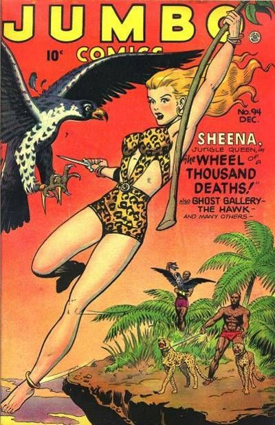 Cover for Jumbo Comics (Fiction House, 1938 series) #94