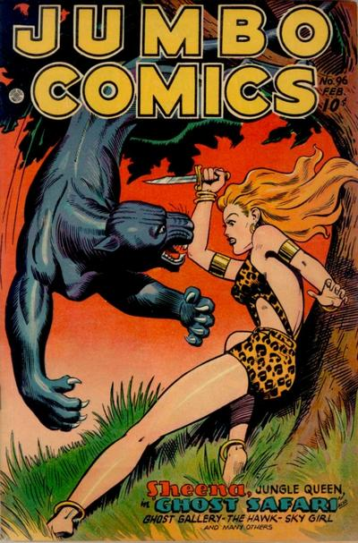 Cover for Jumbo Comics (Fiction House, 1938 series) #96