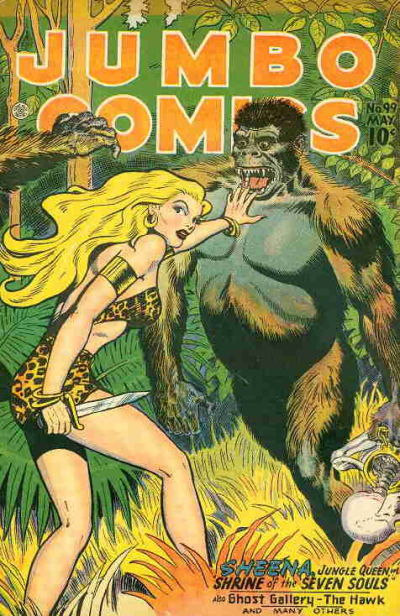 Cover for Jumbo Comics (Fiction House, 1938 series) #99