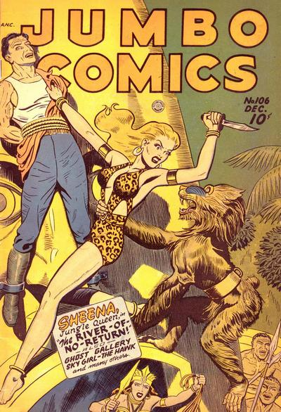 Cover for Jumbo Comics (Fiction House, 1938 series) #106