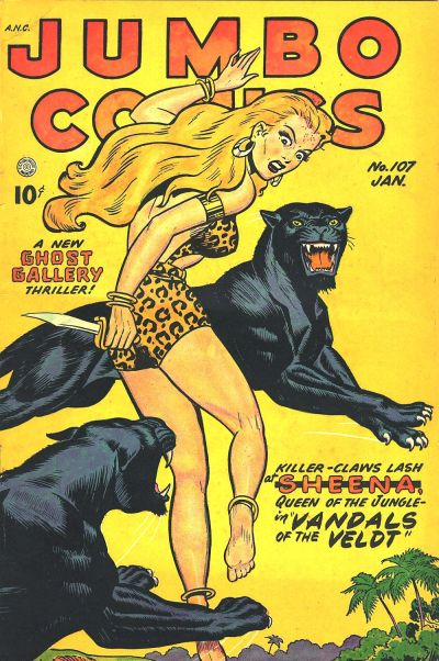 Cover for Jumbo Comics (Fiction House, 1938 series) #107
