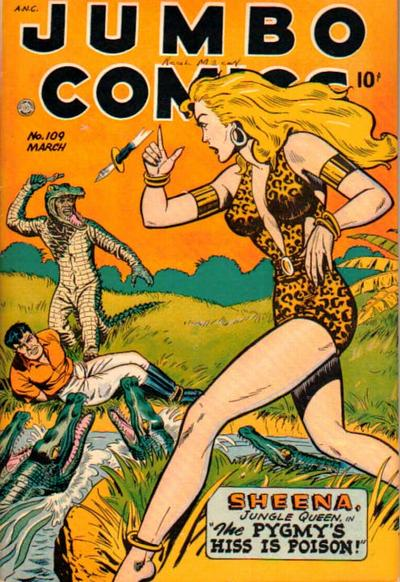 Cover for Jumbo Comics (Fiction House, 1938 series) #109