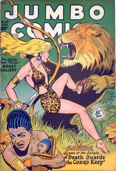 Cover for Jumbo Comics (Fiction House, 1938 series) #110