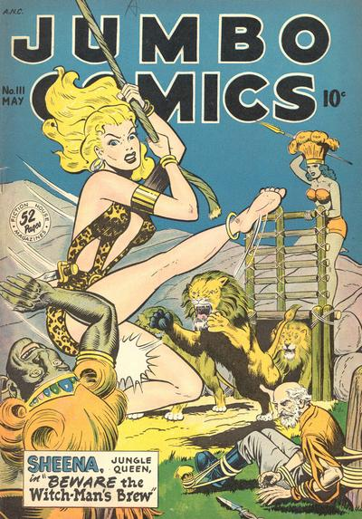 Cover for Jumbo Comics (Fiction House, 1938 series) #111