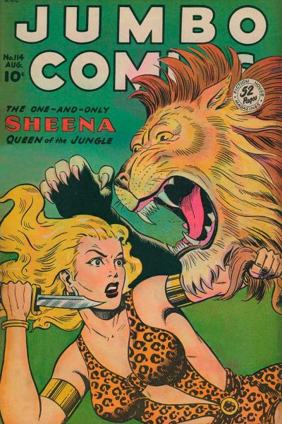 Cover for Jumbo Comics (Fiction House, 1938 series) #114