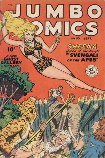 Cover for Jumbo Comics (Fiction House, 1938 series) #115