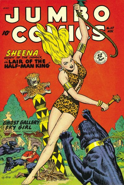 Cover for Jumbo Comics (Fiction House, 1938 series) #117