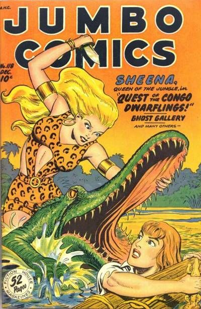 Cover for Jumbo Comics (Fiction House, 1938 series) #118