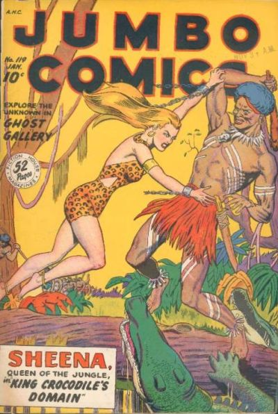 Cover for Jumbo Comics (Fiction House, 1938 series) #119
