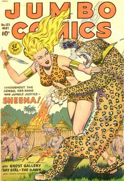 Cover for Jumbo Comics (Fiction House, 1938 series) #123