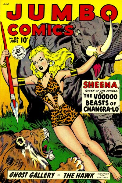 Cover for Jumbo Comics (Fiction House, 1938 series) #124