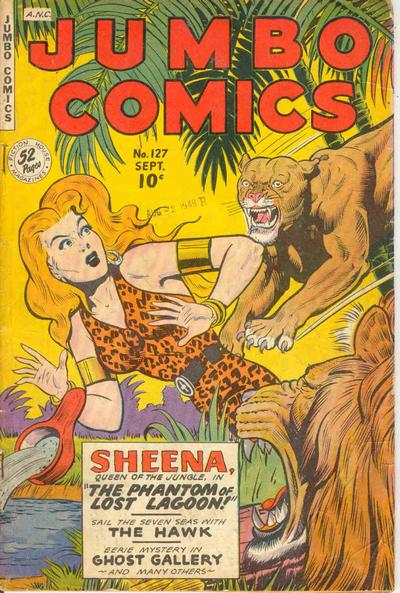 Cover for Jumbo Comics (Fiction House, 1938 series) #127