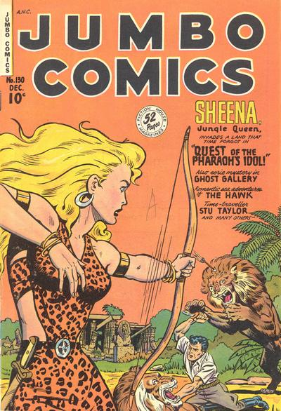 Cover for Jumbo Comics (Fiction House, 1938 series) #130