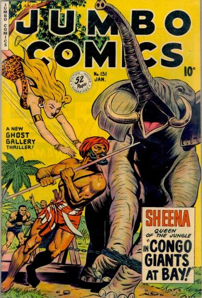 Cover for Jumbo Comics (Fiction House, 1938 series) #131