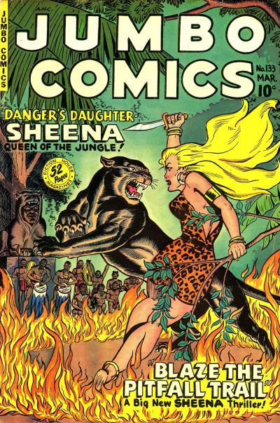 Cover for Jumbo Comics (Fiction House, 1938 series) #133